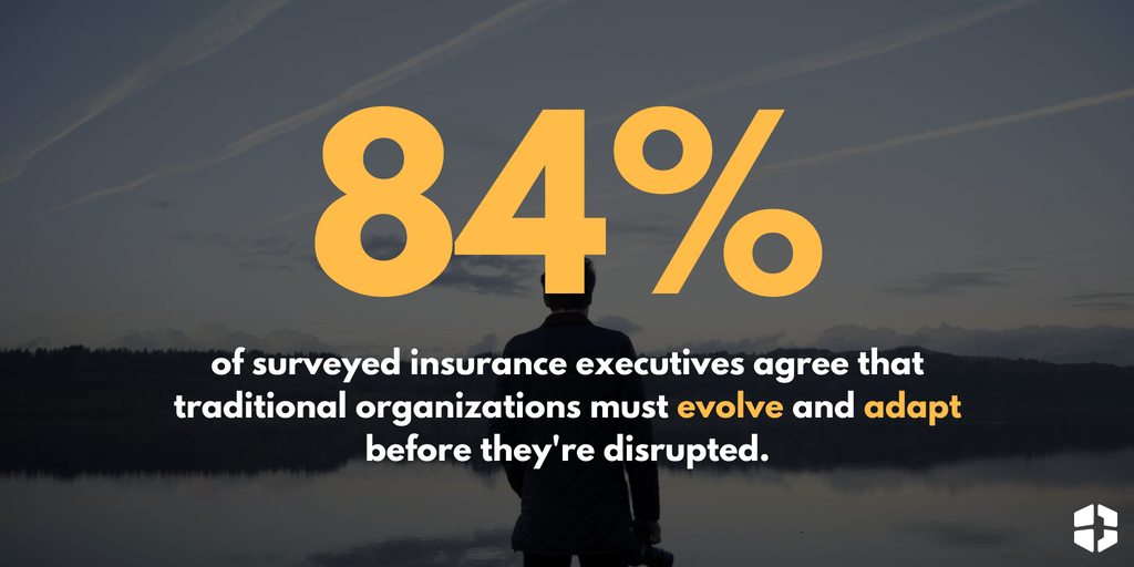 Insurance executives agree that traditional organizations must evolve and adapt before they're disrupted. | The Evolving Role of Insurance Brokers | Brown & Joseph, LLC