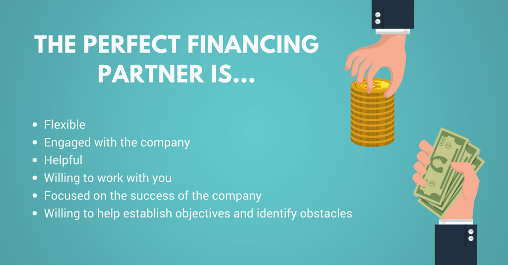 The Perfect Financing Partner