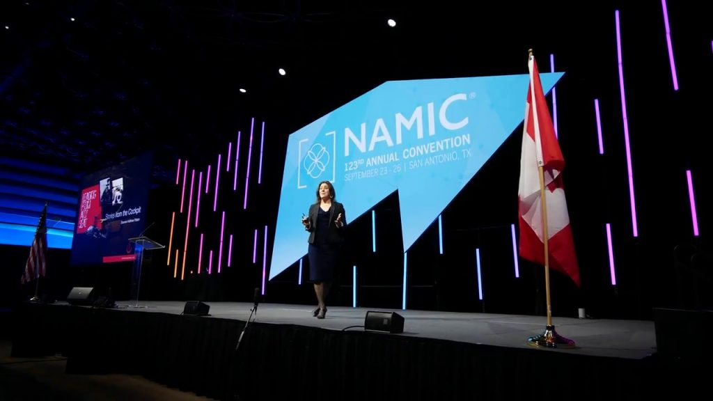 Photo from the NAMIC 123rd Annual Convention