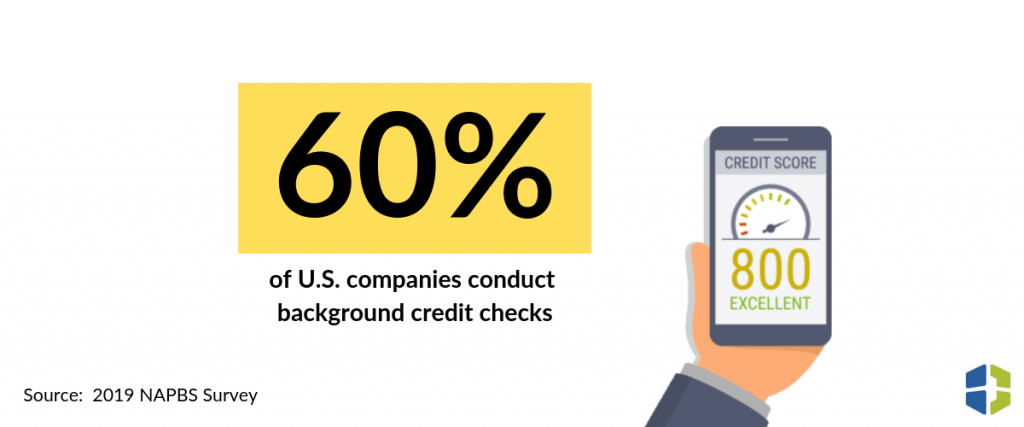 60% of Companies Conduct Background Credit Checks | Brown & Joseph, LLC