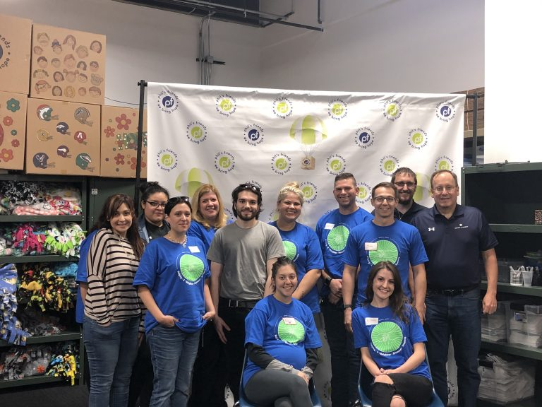 Brown & Joseph's charity committee volunteers at Phil's Friends in Roselle, IL.