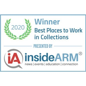 2020 Best Places to Work in Collections